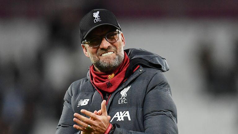 Jurgen Klopp and Liverpool could potentially secure the Premier League title in the Merseyside derby on June 21