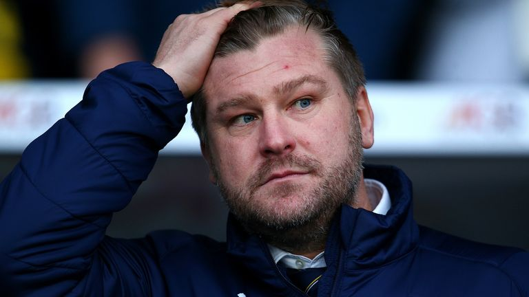 Oxford United have rejected Blackpool's request to speak to  boss Karl Robinson
