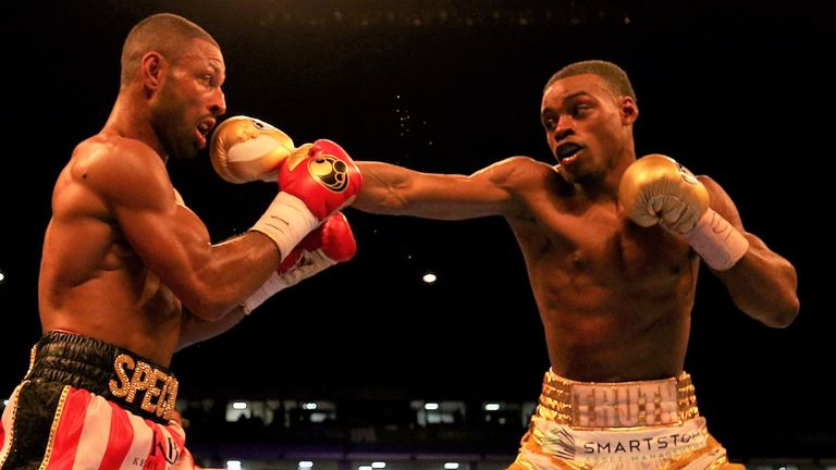 Brook shared a brutal battle with Errol Spence Jr at Bramall Lane