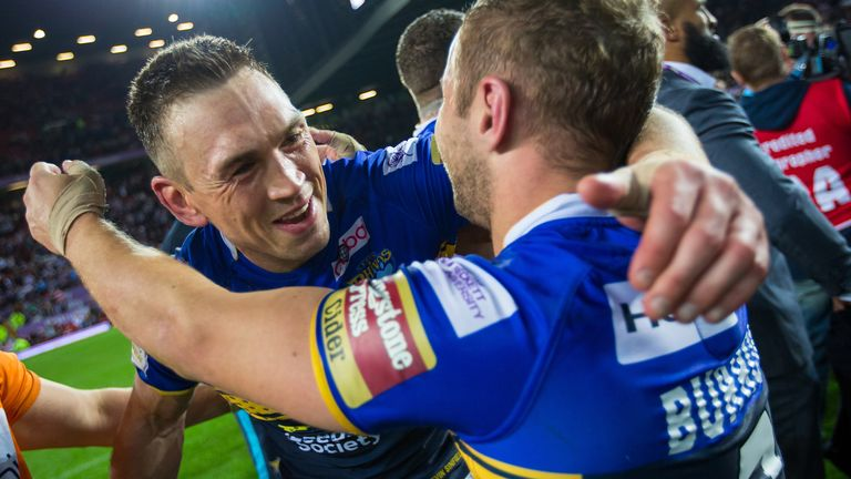 Kevin Sinfield is set to turn out to support former team-mates Rob Burrow and Jamie Jones-Buchanan