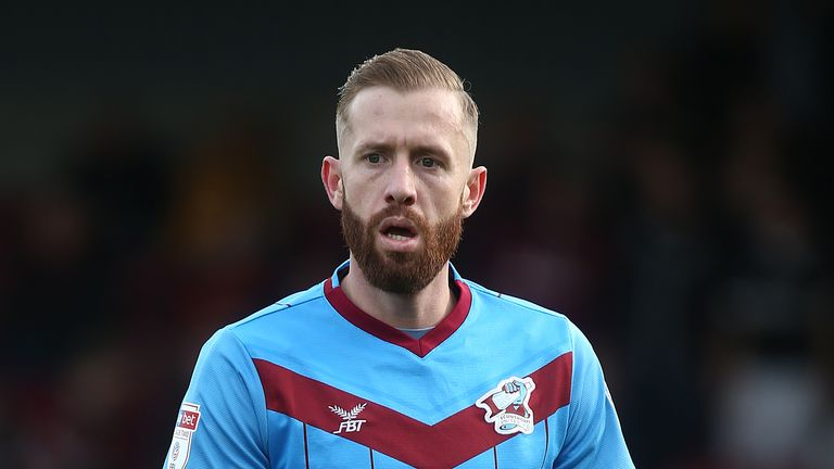 Kevin van Veen scored twice for Scunthorpe against Man City U21s