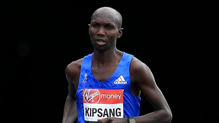 Kipsang is the sixth fastest marathon runner in history, with a personal best of two hours three minutes and 13 seconds