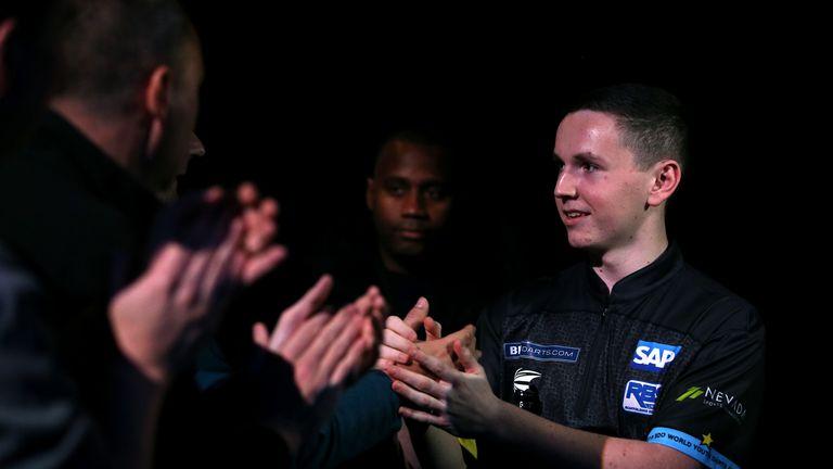 Bennett is one of darts' rising stars