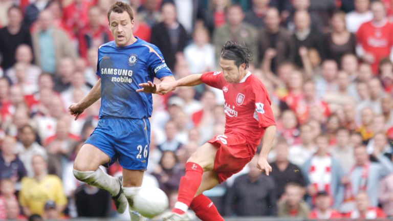 Luis Garcia was the scourge of Chelsea again in the 2006 FA Cup semi-finals
