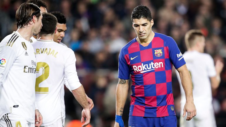 Luis Suarez is set to miss four months after undergoing knee surgery