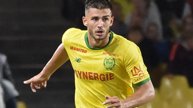 Reading defender Matt Miazga played alongside Sala at Nantes
