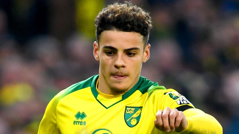 Max Aarons made his first-team debut at Norwich in August