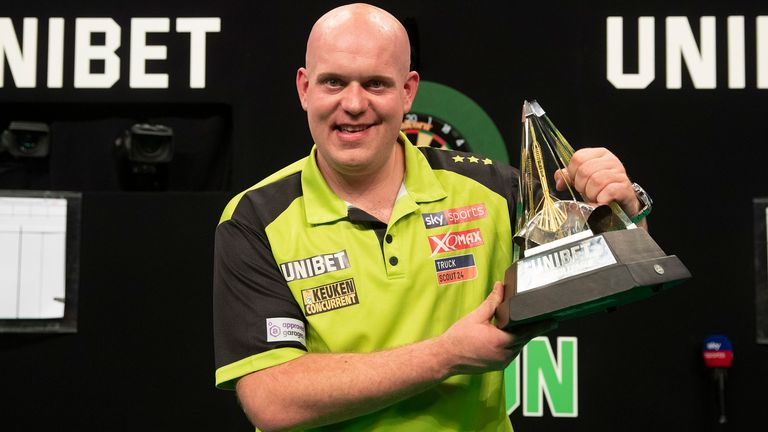 Michael van Gerwen finished sixth in last season's Premier League, the first time he has failed to make the Play-Offs
