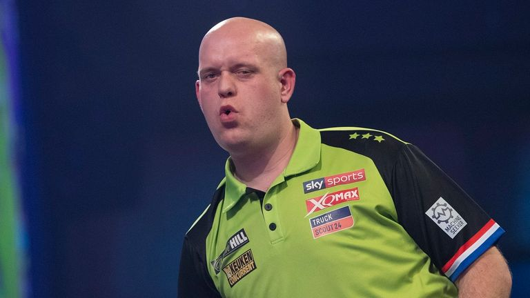 Van Gerwen is one of several big-name stars that could be forced to self-isolate in the UK upon arrival