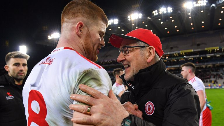 Mickey Harte looks likely to be without Cathal McShane for the 2020 season