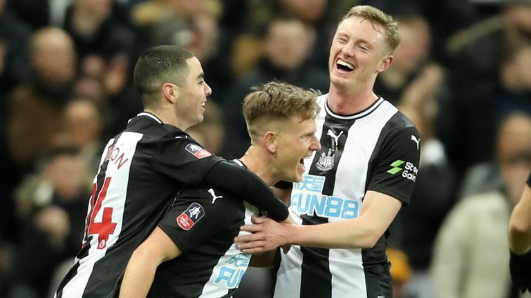 Newcastle proved too good for Rochdale in the FA Cup third-round replay