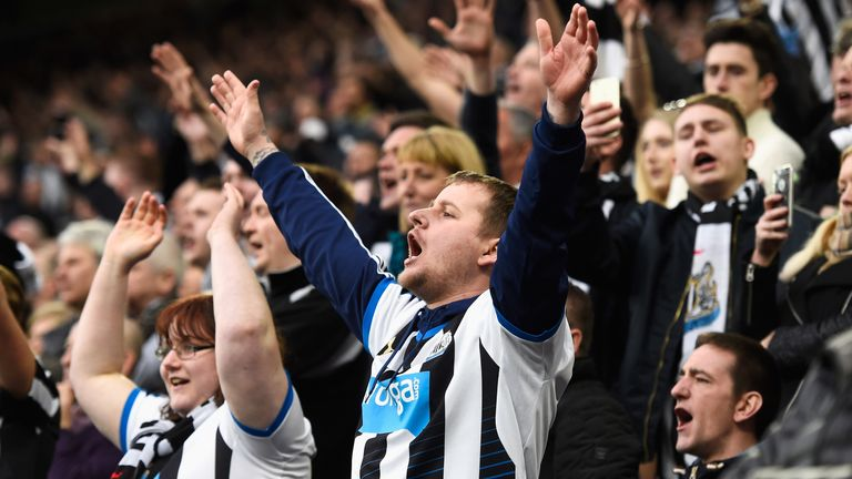 Newcastle United fans excited about potential new investment