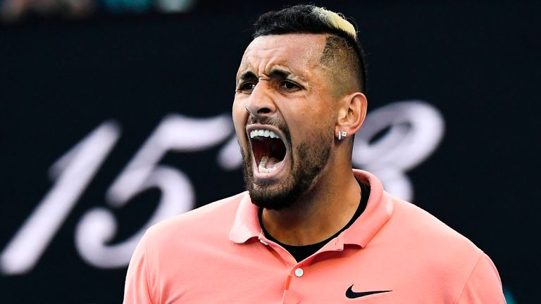 Australia's Nick Kyrgios has admitted he was already thinking about taking time off from tennis before the coronavirus pandemic hit