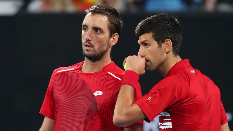 The pairing held their nerve after an early break and grew stronger as the match went on
