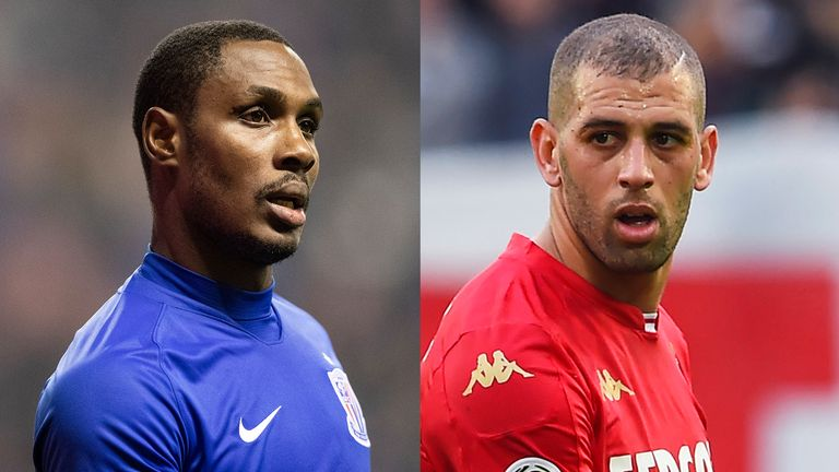 Manchester United have looked at Odion Ighalo and Islam Slimani