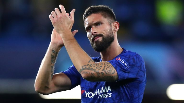 Olivier Giroud had interest from Inter Milan, Lazio and Tottenham during the January transfer window
