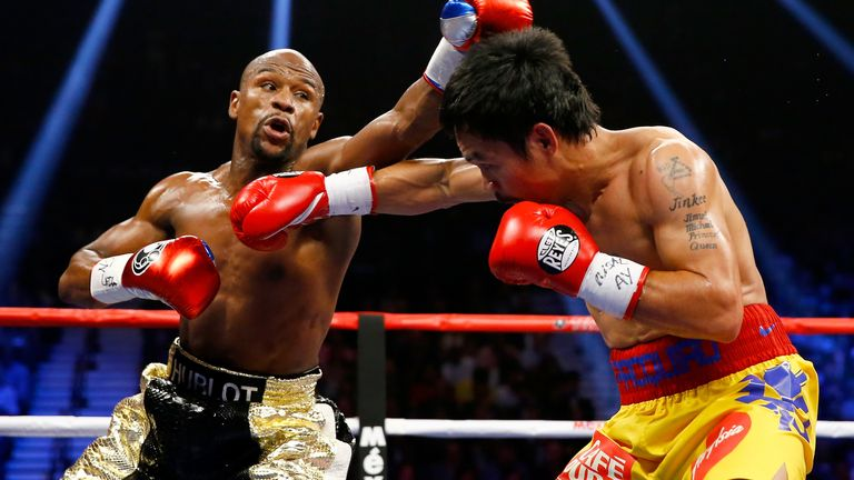 Mayweather vs Pacquiao was the richest fight of all time