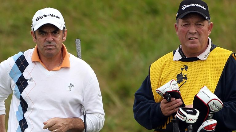 Rae was on McGinley's bag for a number of years