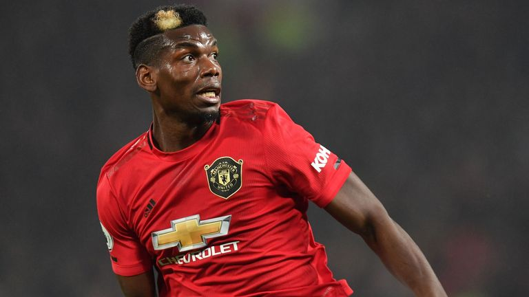Paul Pogba is wanted by Real Madrid and Juventus
