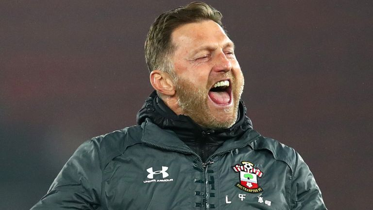 Southampton manager Ralph Hasenhuttl tends to struggle at home against well-drilled teams