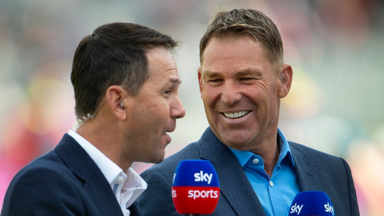 Ricky Ponting makes Warne's ultimate XI from Australia players he teamed with