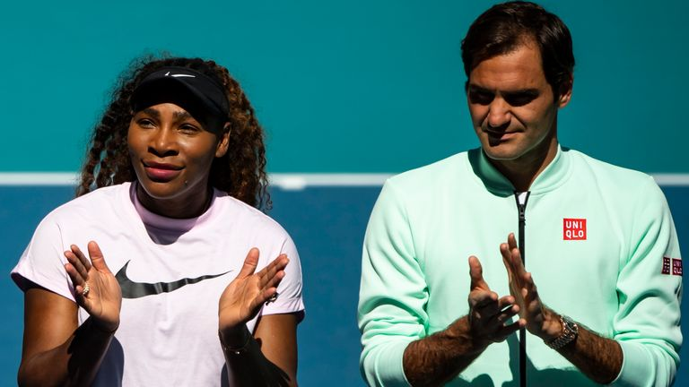 Serena Williams and Roger Federer are inspiring Clijsters