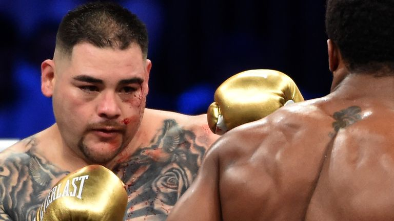 Ruiz Jr admitted he was out of shape for the rematch