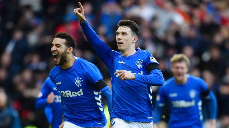 Rangers' Ryan Jack scored the winner against Celtic in December 2018