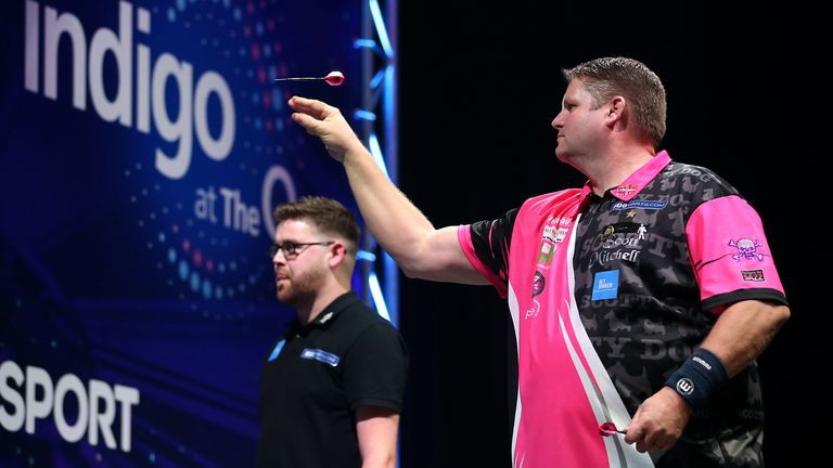 Scott Mitchell is in top form ahead of his quarter-final meeting with Scott Waites