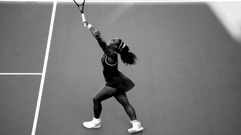 Williams was emotional after winning the WTA title in Auckland