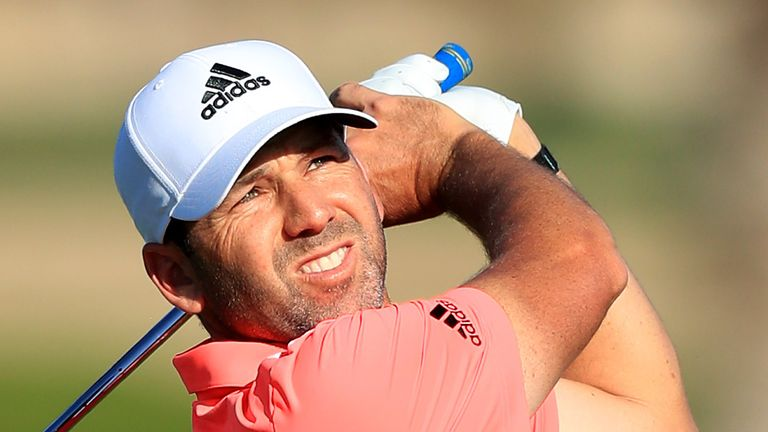 Garcia is a former winner of the Dubai Desert Classic