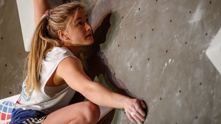 Shauna Coxsey is the first climber selected for Team GB