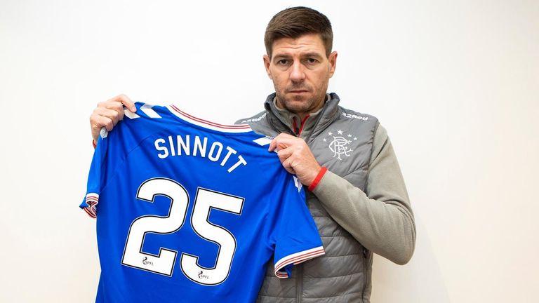 Rangers boss Steven Gerrard came out in support of late non-league footballer Jordan Sinnott