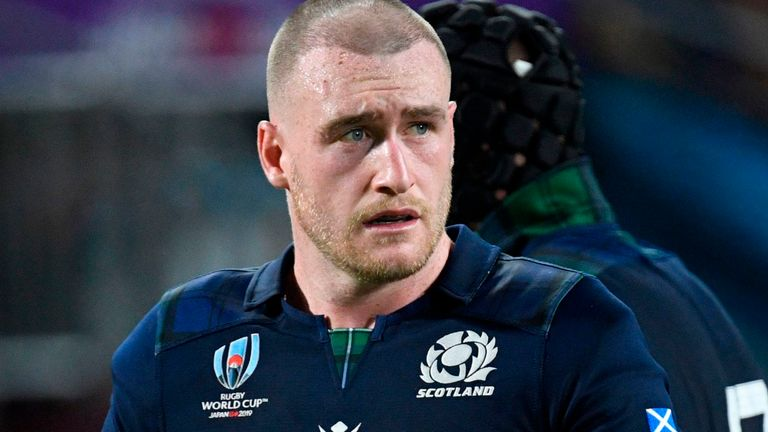 Stuart Hogg replaces Stuart McInally as Scotland captain