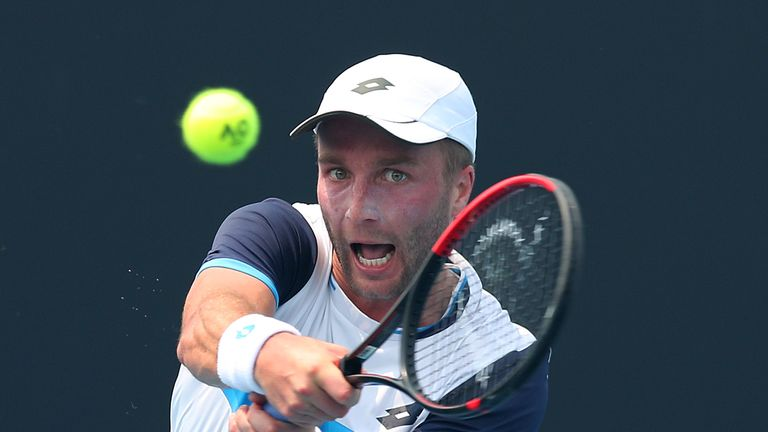 Liam Broady wants players to make a stand over playing in poor air quality
