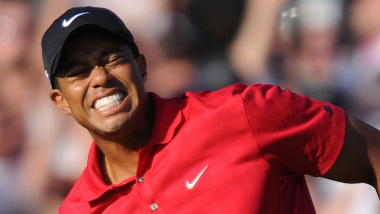 Woods defeated Rocco Mediate in a play-off to win in 2008