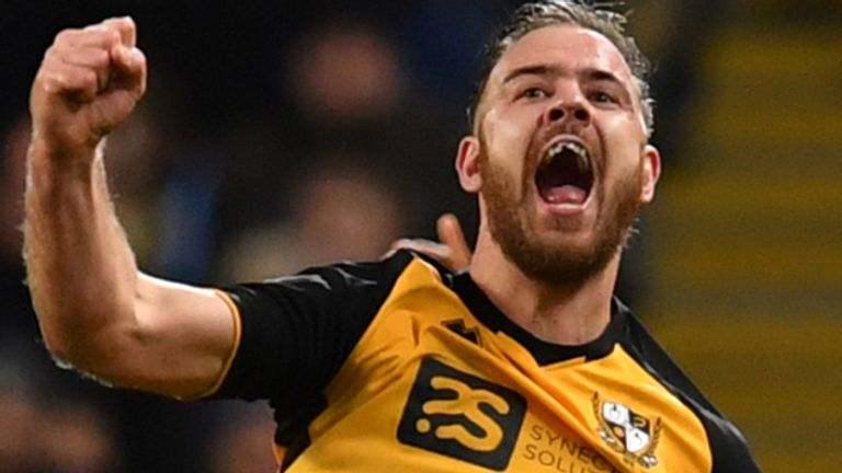 Tom Pope claimed he would score 40 goals a season if he played John Stones every week - and then scored for Port Vale at the Etihad