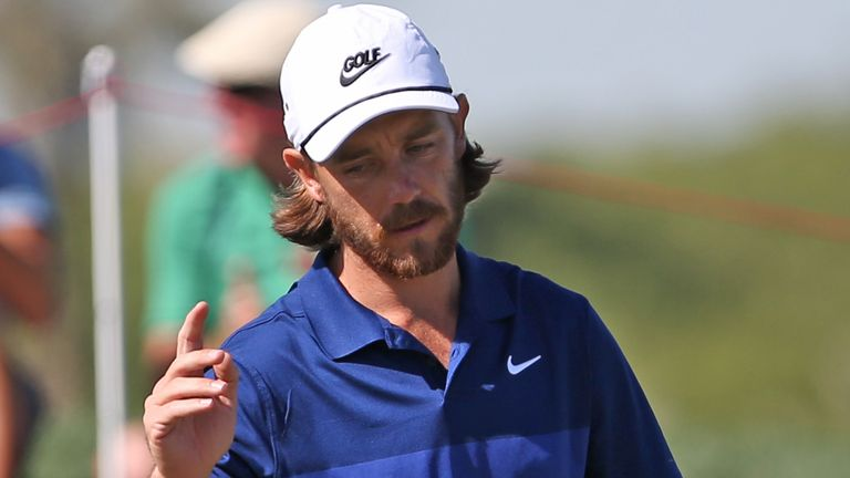 Fleetwood finished runner-up last week in Abu Dhabi