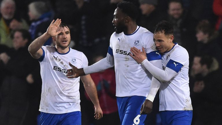 Tranmere knocked out Premier League side Watford in the previous round