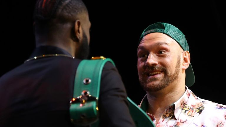 Tyson Fury can win against Deontay Wilder - Anthony Joshua backs British rival
