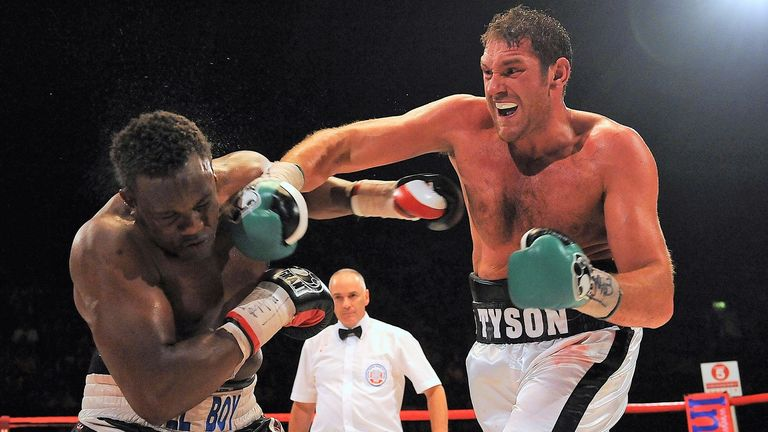 Fury defeated Derek Chisora to win the British and Commonwealth belts