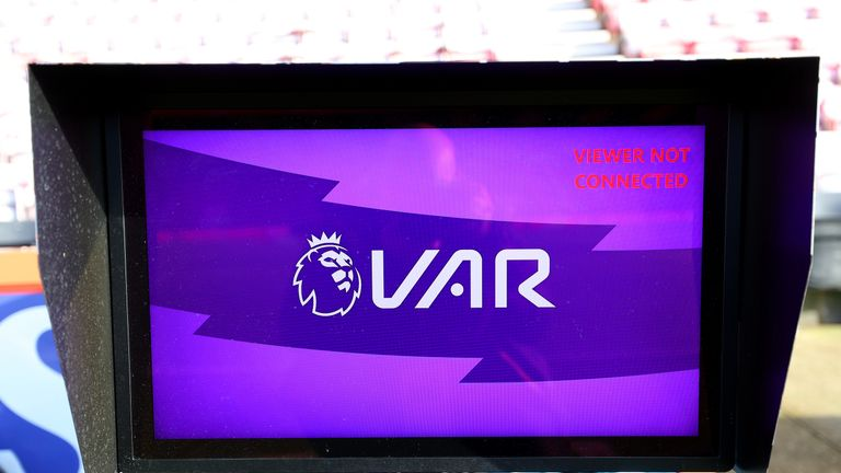 Pitchside monitor's have been used sparingly in the Premier League