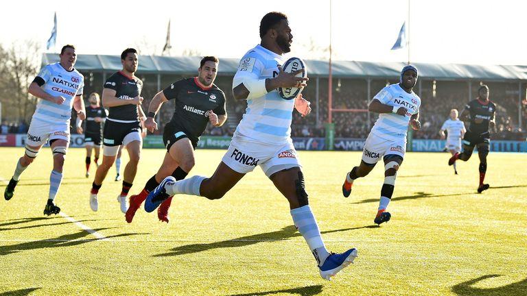 Virimi Vakatawa runs in for his first try