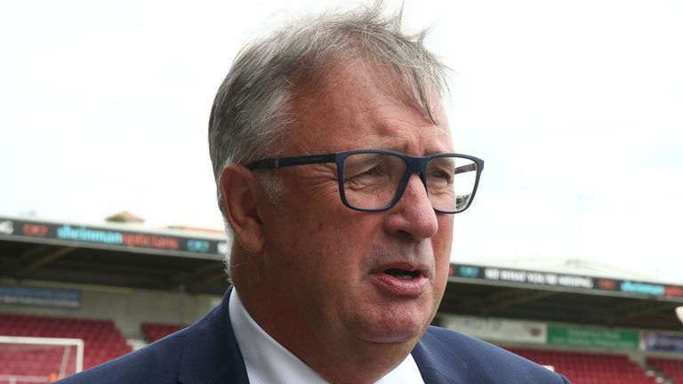 Walsall chairman Leigh Pomlett took charge of the club in the summer