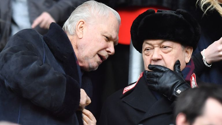 David Gold and David Sullivan have been in charge at West Ham for a decade