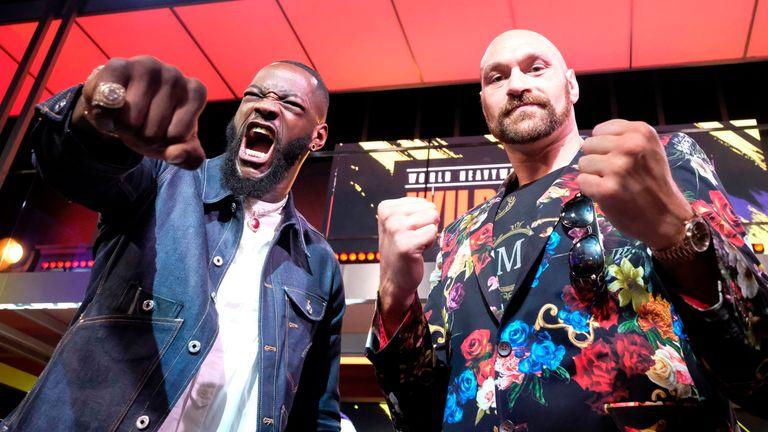 Anthony Joshua backs Tyson Fury to defeat Deontay Wilder