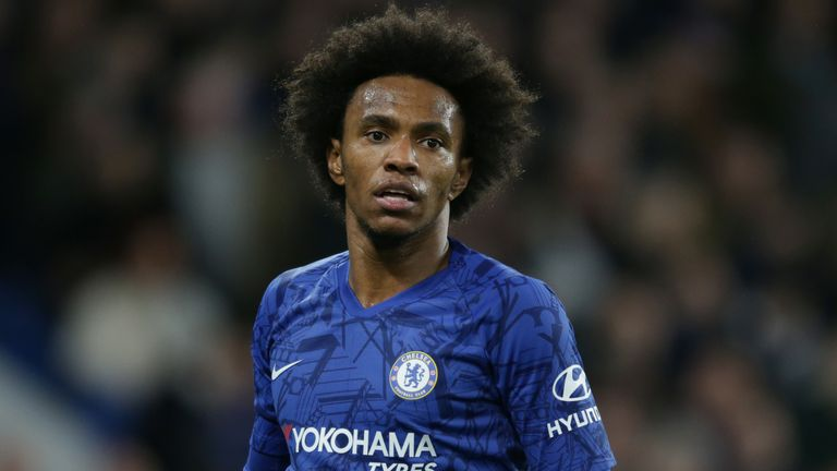 Willian says he would remain loyal and agree a short-term Chelsea extension