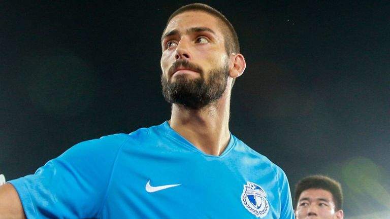 Yannick Carrasco originally left Atletico Madrid to join Dalian Yifang two years ago
