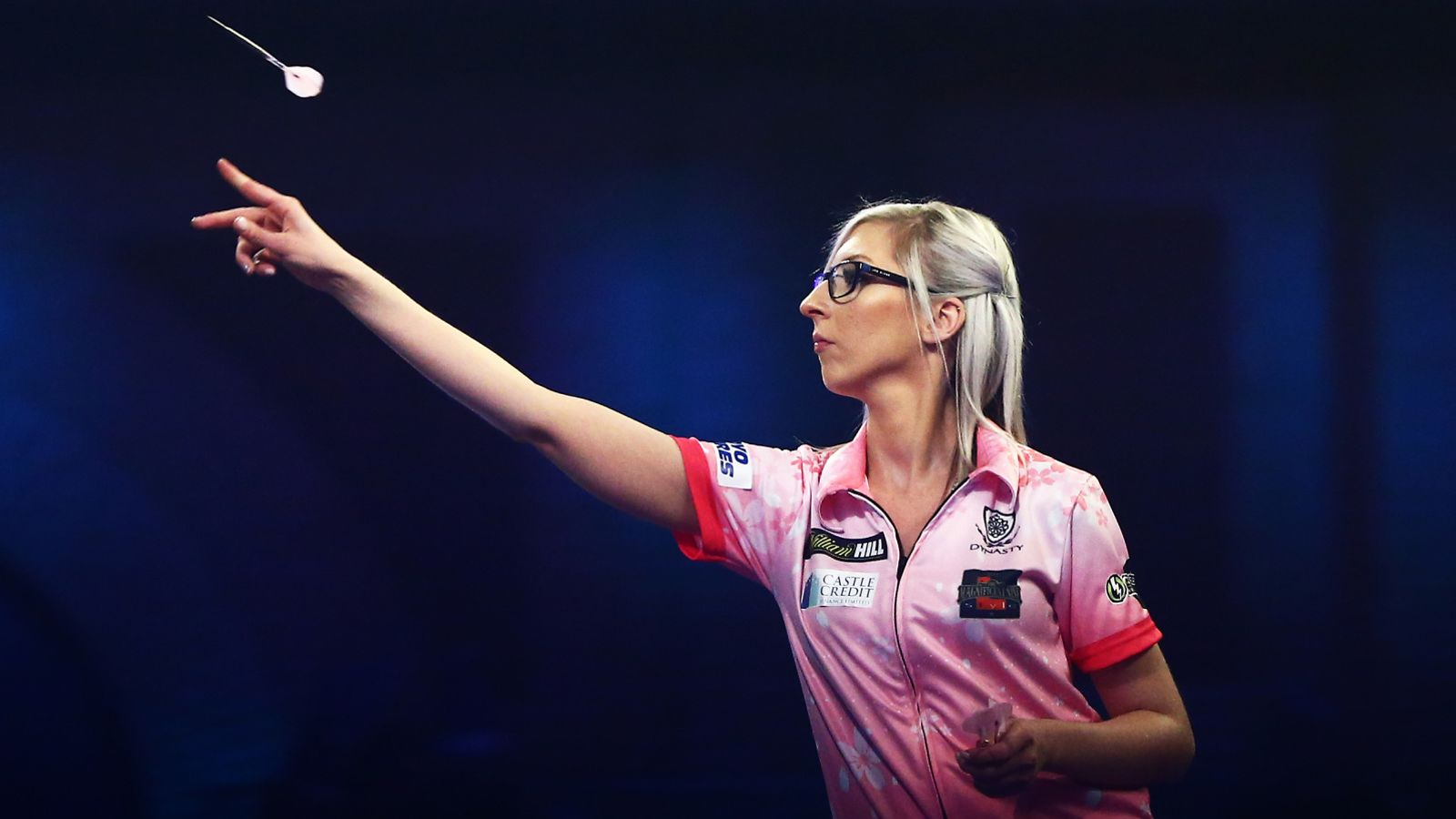 Fallon Sherrock: Queen of the Palace takes centre stage for Premier League Darts Night Two