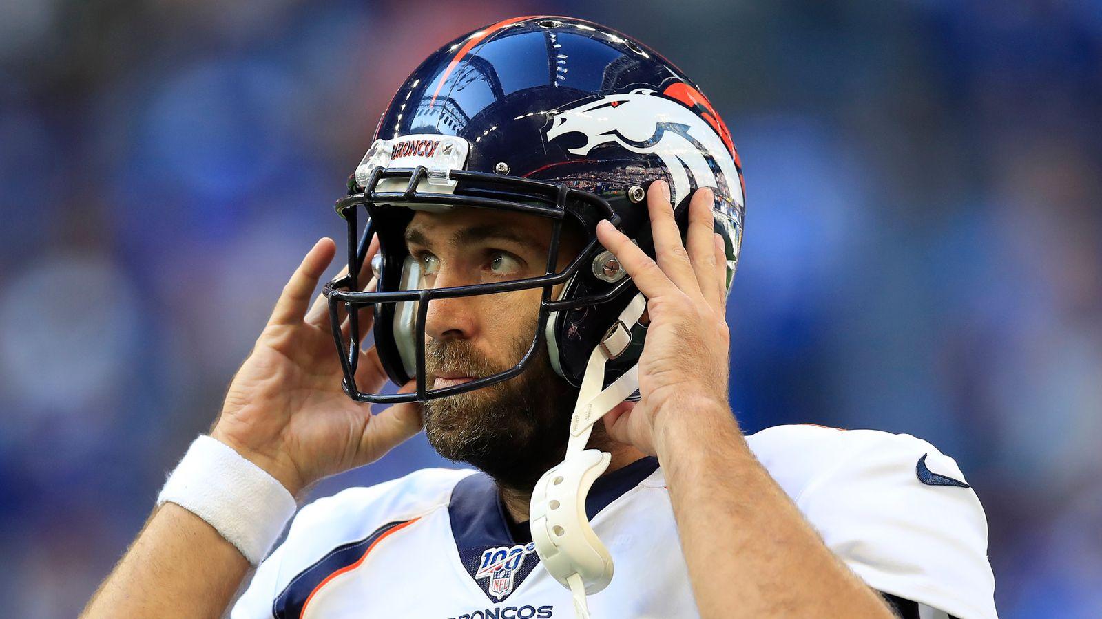 Denver Broncos quarterback Joe Flacco plans to play on in 2020